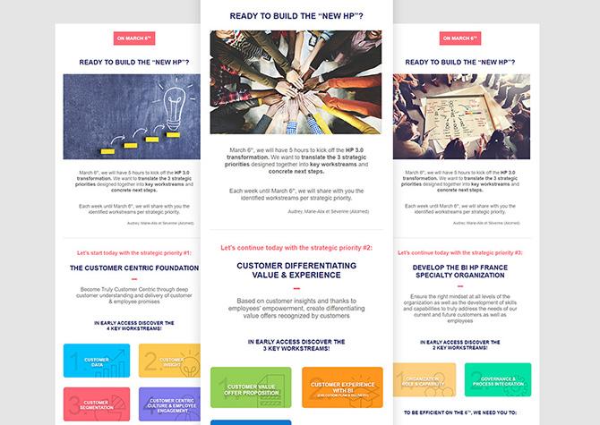 Les 3 Newsletters Boerhinger Ingelheim