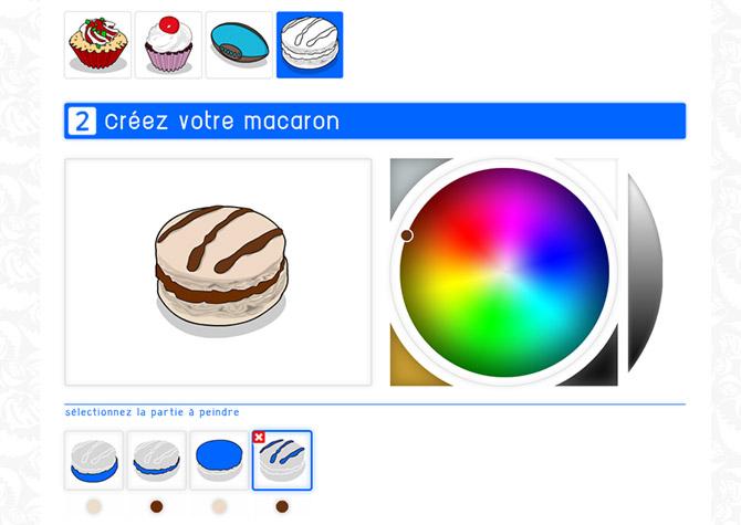 App Sanzzo Color - Macaron